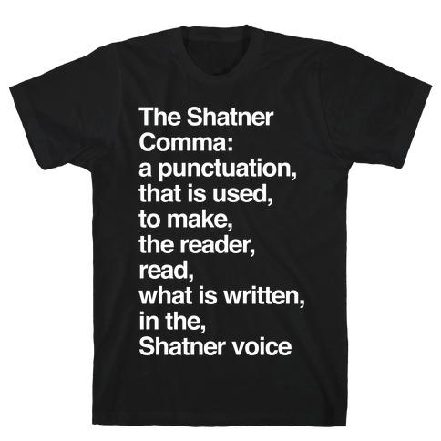 Shatner Comma T-Shirt