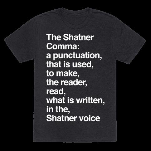 Shatner Comma