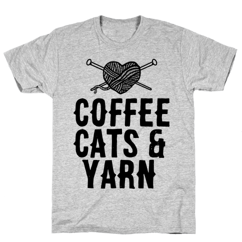 Coffee, Cats and Yarn