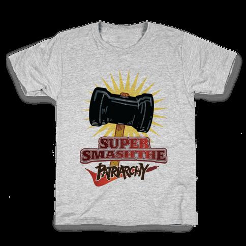 Super Smash The Patriarchy Kids T-Shirt