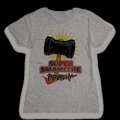 Super Smash The Patriarchy Womens T-Shirt