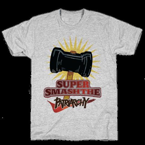 Super Smash The Patriarchy Mens T-Shirt