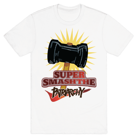 Super Smash The Patriarchy Mens T-Shirt