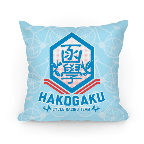Hakogaku Cycle Racing Team Pillow
