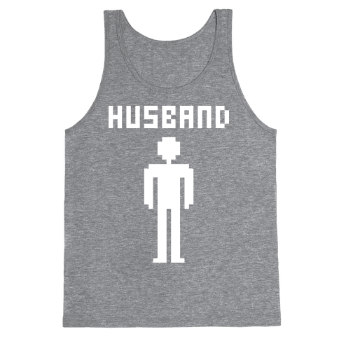 Nerd Husband Tank Top