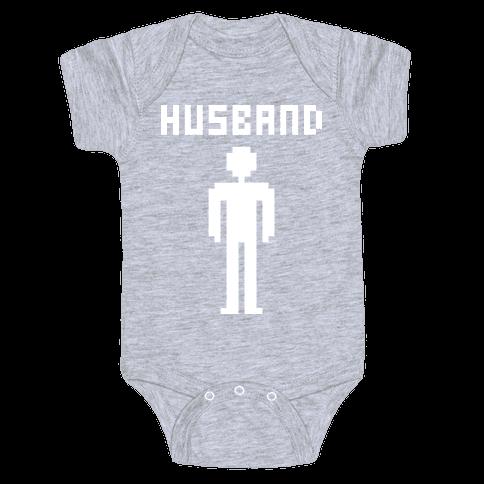 Nerd Husband Baby Onesy