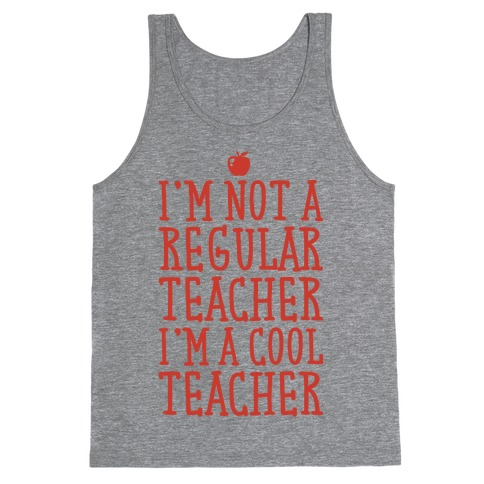 Cool Teacher Tank Top
