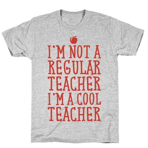 Cool Teacher Mens/Unisex T-Shirt