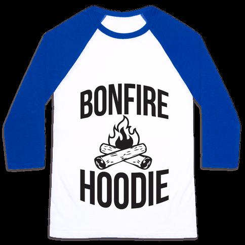Bonfire Hoodie Baseball Tee