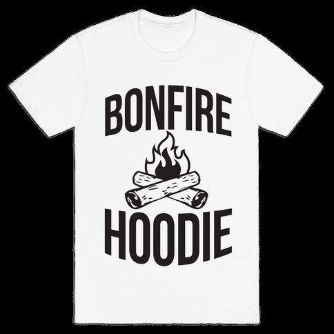 Bonfire Hoodie Mens T-Shirt