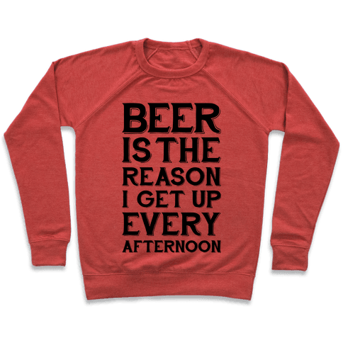 Beer Is The Reason Pullover