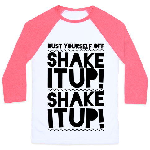 Shake It Up! Baseball Tee