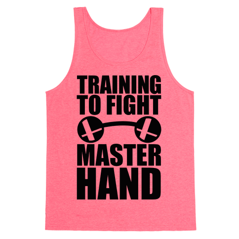 Training To Fight Master Hand Tank Top