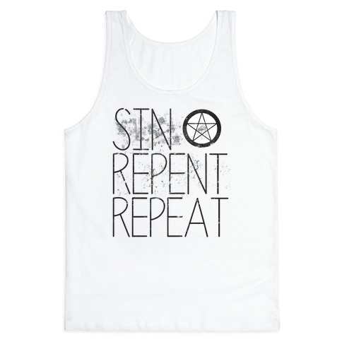 Sin Every Day Tank Top
