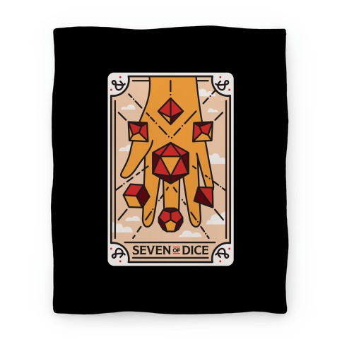 Seven of Dice - D&D Tarot Blanket