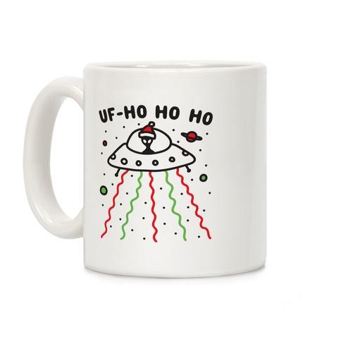 UF-Ho Ho Ho Santa Alien Coffee Mug