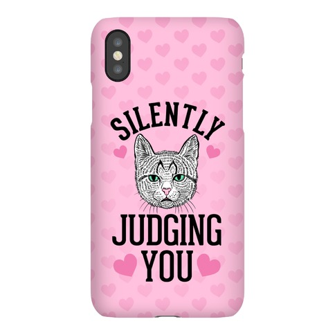 Silently Judging You Phone Case
