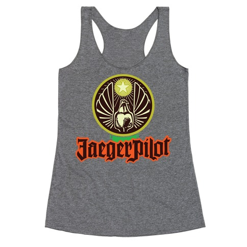 Jaeger Pilot Racerback Tank Top