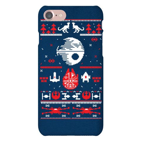 Scifi Christmas Sweater Phone Case