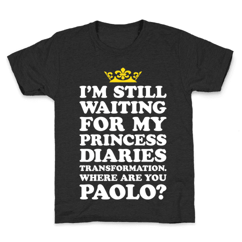 Where Are You Paolo? Kids T-Shirt