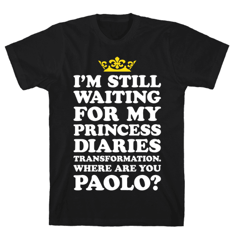 Where Are You Paolo? Mens T-Shirt
