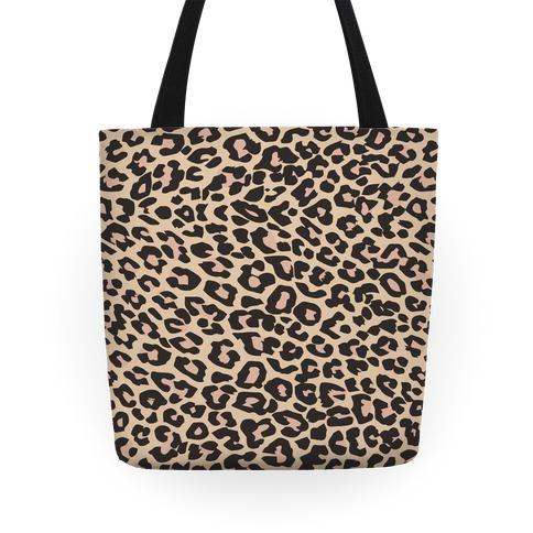 Leopard Pattern Tote Tote