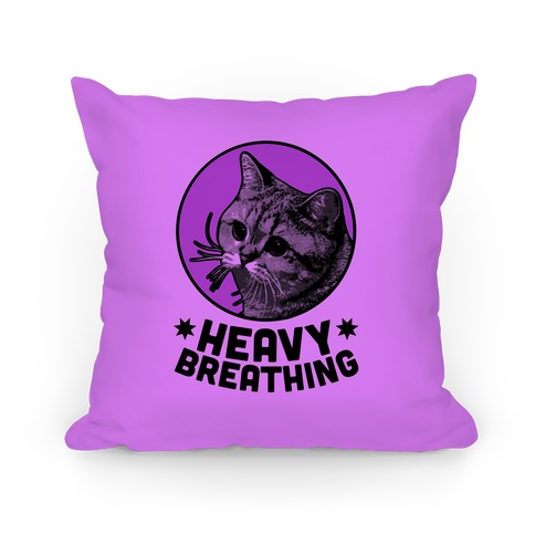 Starecat (Heavy Breathing) Pillow Pillow