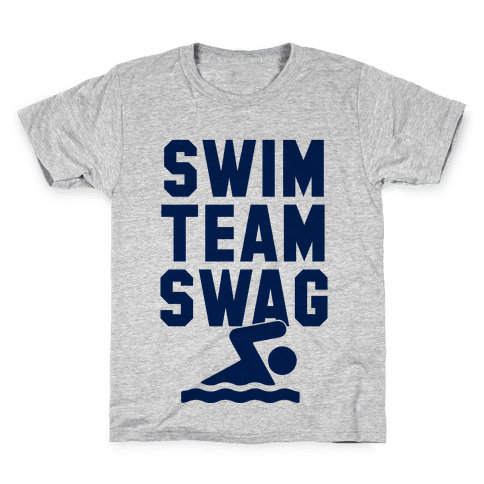 Swim Team Swag Kids T-Shirt