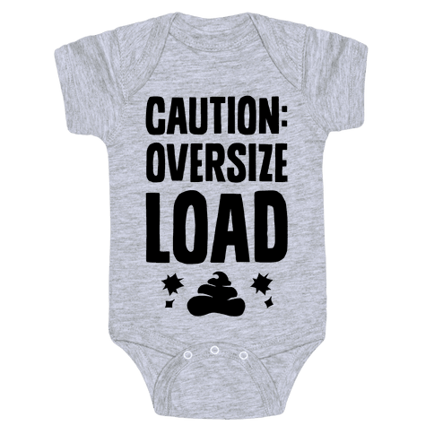 CAUTION: Oversize Load Baby Onesy