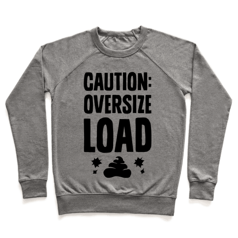 CAUTION: Oversize Load Pullover
