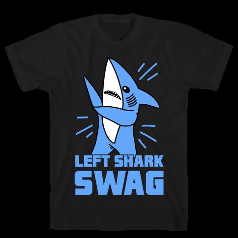 Left Shark Swag Mens T-Shirt