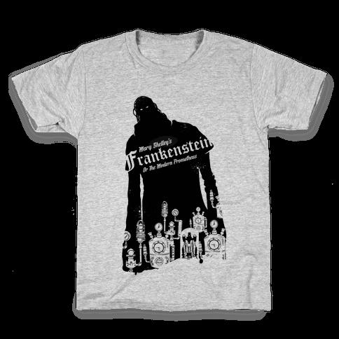 Mary Shelley's Frankenstein Kids T-Shirt