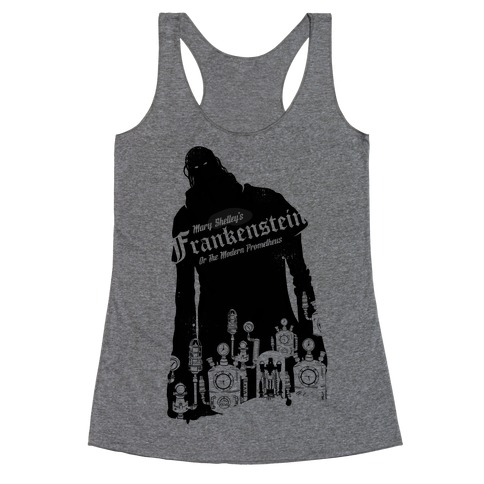 Mary Shelley's Frankenstein Racerback Tank Top