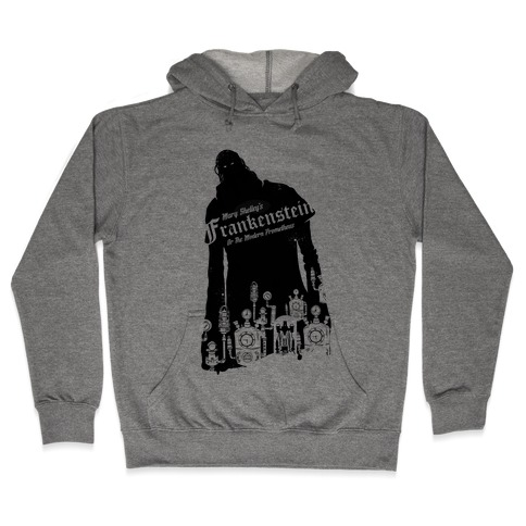 Mary Shelley's Frankenstein Hooded Sweatshirt