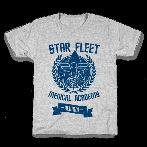 Star Fleet Medical Academy Alumni Kids T-Shirt