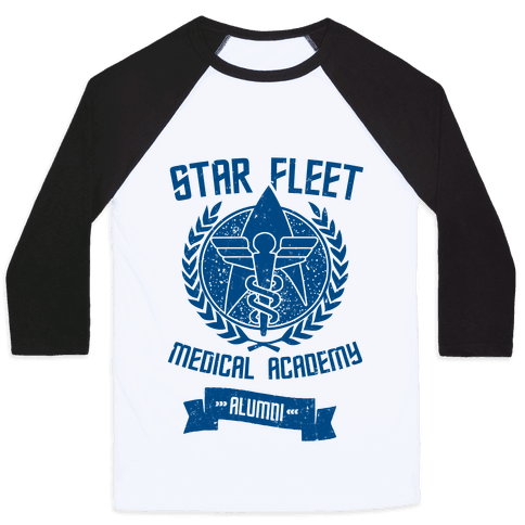 Star Fleet Medical Academy Alumni Baseball Tee