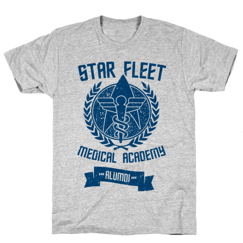Star Fleet Medical Academy Alumni Mens T-Shirt