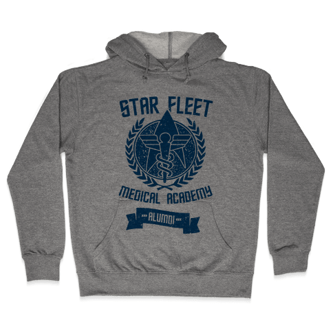 Star Fleet Medical Academy Alumni Hooded Sweatshirt
