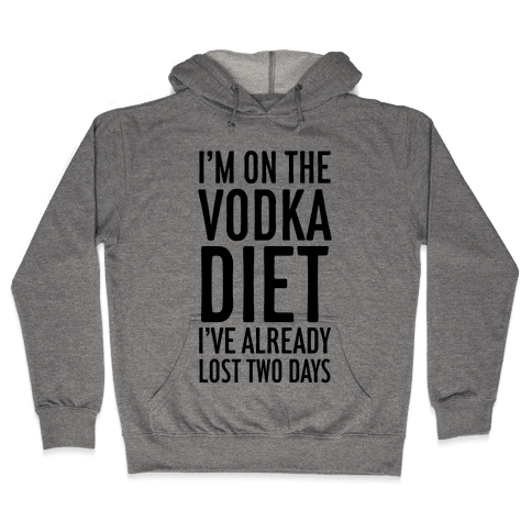 Vodka Diet Hooded Sweatshirt