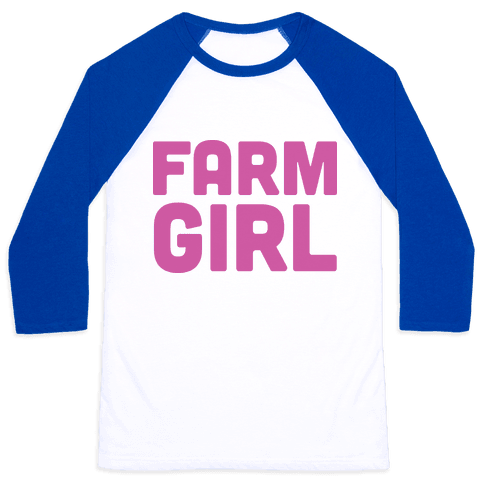 Farm Girl (Tank) Baseball Tee