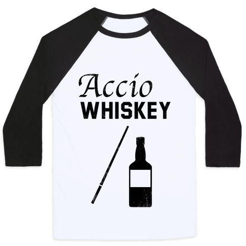 Accio WHISKEY Baseball Tee
