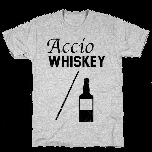 Accio WHISKEY Mens T-Shirt