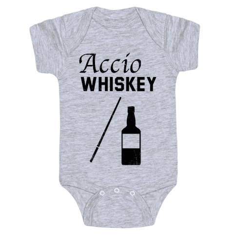 Accio WHISKEY Baby Onesy