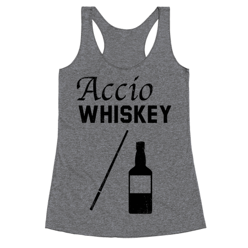 Accio WHISKEY Racerback Tank Top