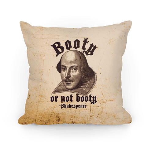 Booty Or Not Booty Pillow