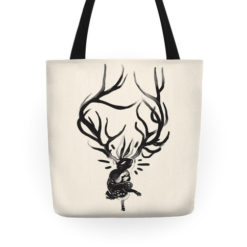 A Jackalope's Lullaby Tote