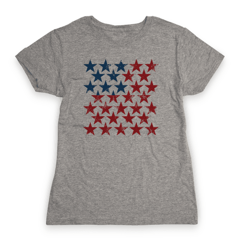 Field Of Stars Womens T-Shirt