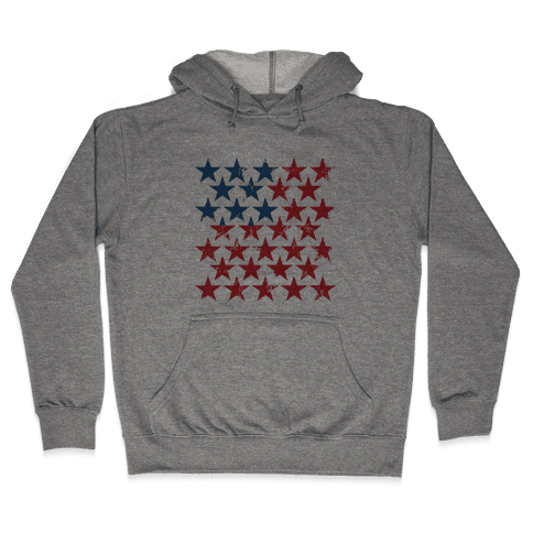 Field Of Stars Hooded Sweatshirt