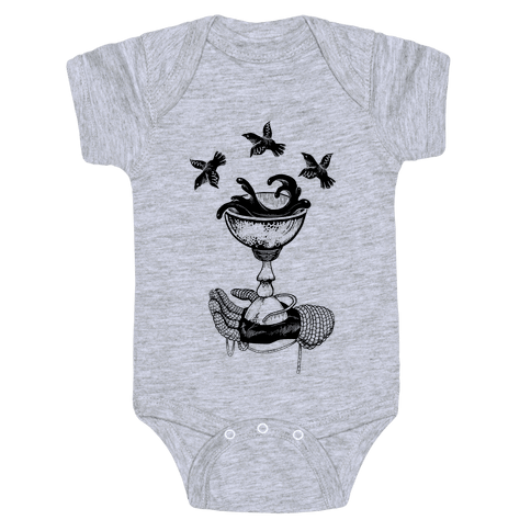 Ace Of Cups Baby Onesy
