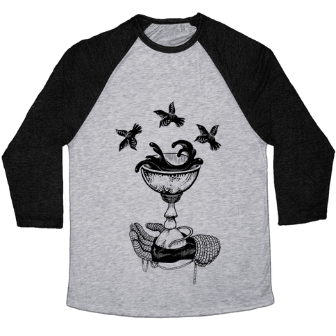 Ace Of Cups Baseball Tee